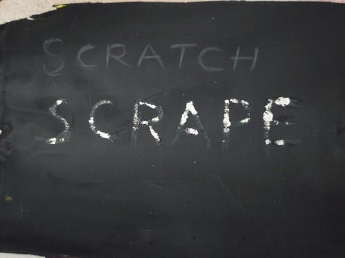 Dry Sgraffiti