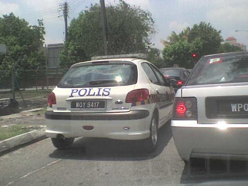 Naza206 Bestari Police Car