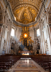 Cathedra Petri Altar Divinity (Sean Molin Photography) Tags: city sunlight pope vatican rome roma beautiful soldier european roman altar mystical magical epic gladiator stpetersbasilica rayoflight papal vacationeuropeitalyrome2009marchvacationitalli vacationeuropeitalyrome2009marchvacationitallian seanmolin wwwseanmolincom