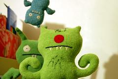 Welcome Home! (The Sassy Scorpio) Tags: toy nikon dolls plush ugly target poe icebat