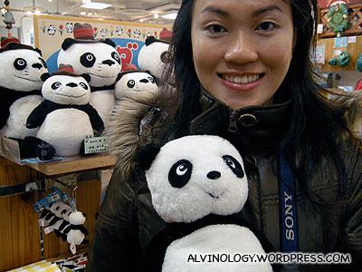 Rachel loves this panda anime