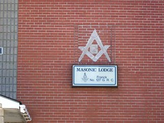 Masonic Lodge sign - by haven