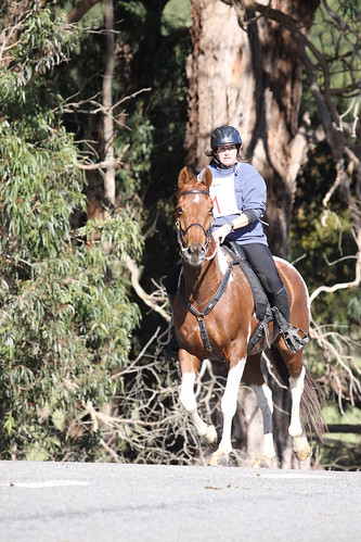 Helen and Evo Supremo, National Endurance Championships, Whareama, April 2009