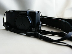 Self-made camera strap with GX100