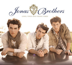 "Jonas Brothers - ""Lines Vines and Trying Times"" COVER OFICIAL ( alezpar) Tags: color lines photoshop vines brothers spears banner trying cover musica times jonas britney diseo brillos womanizer destellos"