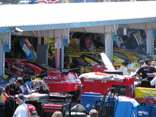 The Garages at PIR were a buzz with activity