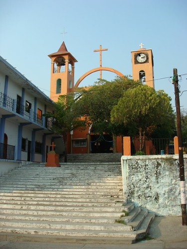Tapanatepec cathedral.