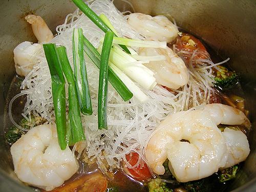 麻辣蝦冬粉-090427