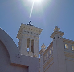 Light of the World (tlparker9) Tags: arizona wall tucson faith belltower santacruzchurch everydayissunday