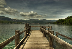 The Wooden Pier (Fabio Montalto) Tags: wood sky italy lake nature clouds landscape pier gpc orta blueribbonwinner photomatix nikond200 supershot flickrsbest hdrfromasingleraw mywinners abigfave platinumphoto aplusphoto theunforgettablepictures theperfectphotographer theunforgettablephotographer tup2 nikon1685 capturenx2 wagman30 flickrclassique flickraward platinumbestshot yourwonderland