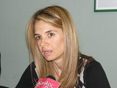 Η Μιλένα Αποστολάκη στην Κομοτηνή