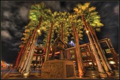 Willie Mays Plaza - HDR (Ah Hman) Tags: park plaza nikon willie hdr att d3 topaz adjust mays photomatix 5xp 1424mm