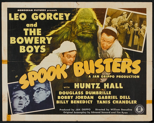 SPOOK BUSTERS half sheet