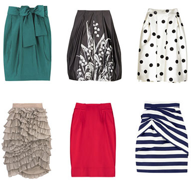Statement Skirts from Net-A-Porter