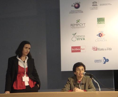 Las organizadoras: Martha Cambre y Nelsa Bottinelli