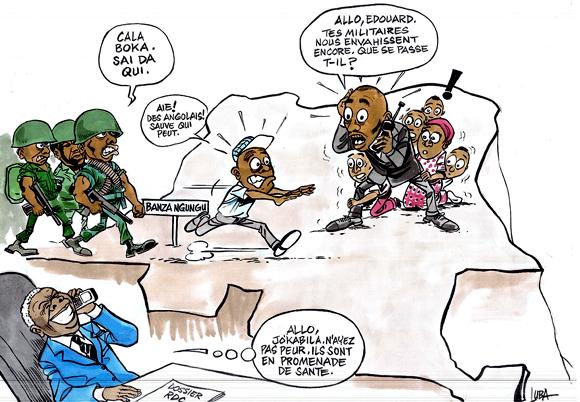 L'armée angolaise en vacances sur le sol congolais
