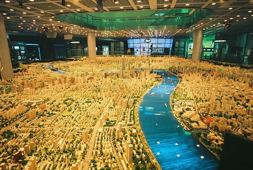 Shanghai Urban Planning exhibition city model