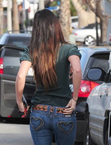 Megan Fox in Frankie B Denim