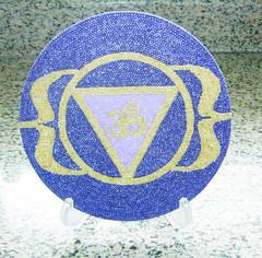 """Mandala símbolo """"OM"""" por MANDALAS & Cia"""