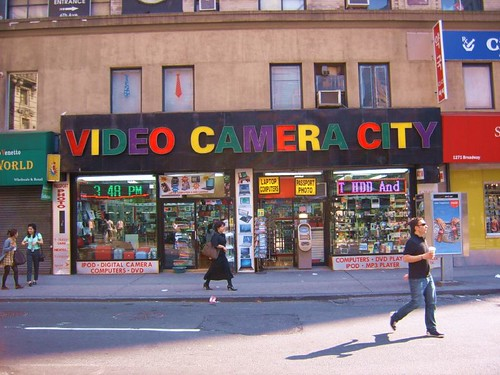 VIDEO CAMERA CITY - NYC