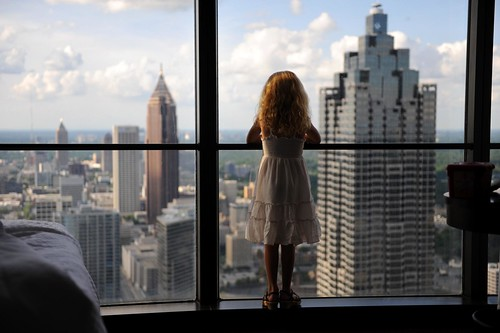 admiring Atlanta