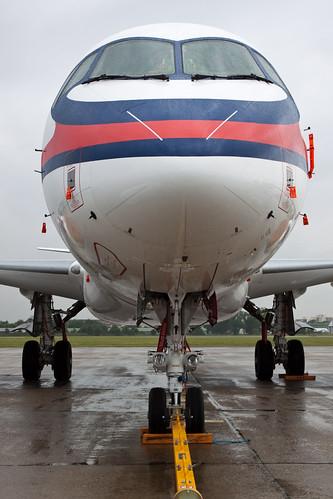 Sukhoi Superjet 100 Le Bourget