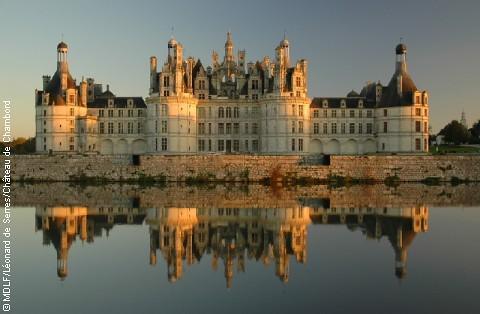 Domaine National de Chambord - Reflet dans les eaux