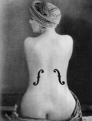 Le Violon dIngres by Man Ray (Kiki as model)