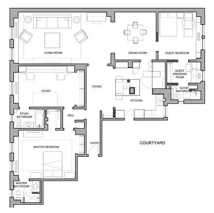 800 WEA Floor Plan
