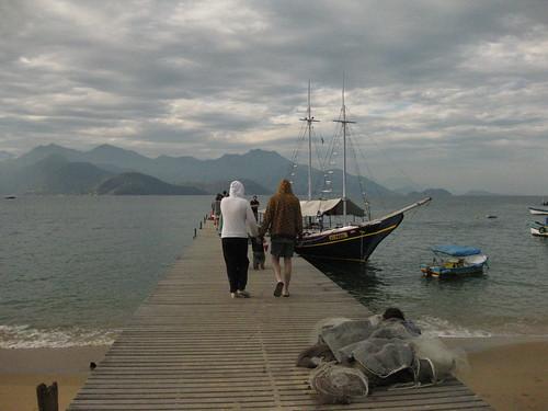boat, Ilha Grande