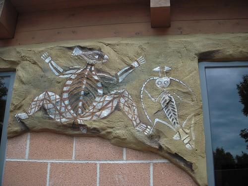 Faux Aboriginal Art