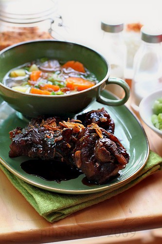 [Indonesian Food] Grilled Oxtail Soup