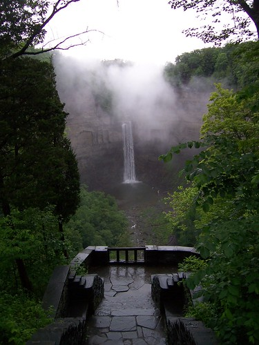 Taughannock Falls, Ithaca, NY. June 2009.