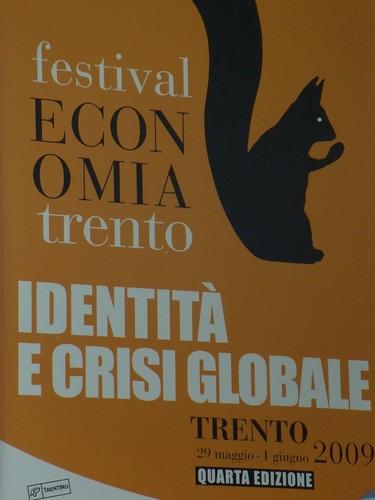 Il tema del Festival dell'economia 2009: identità e crisi globale