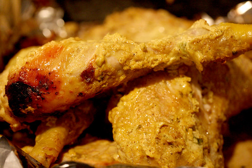 Tandoori chicken legs