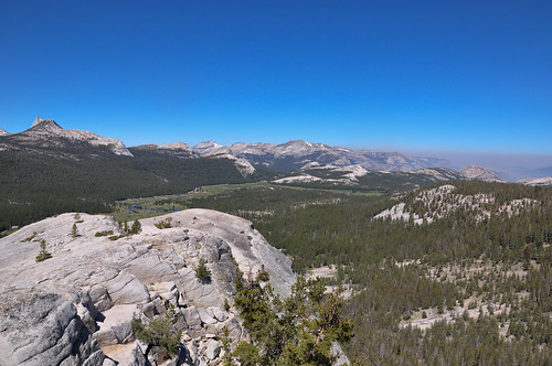 Tuolumne Meadows View from Lambert Dome
