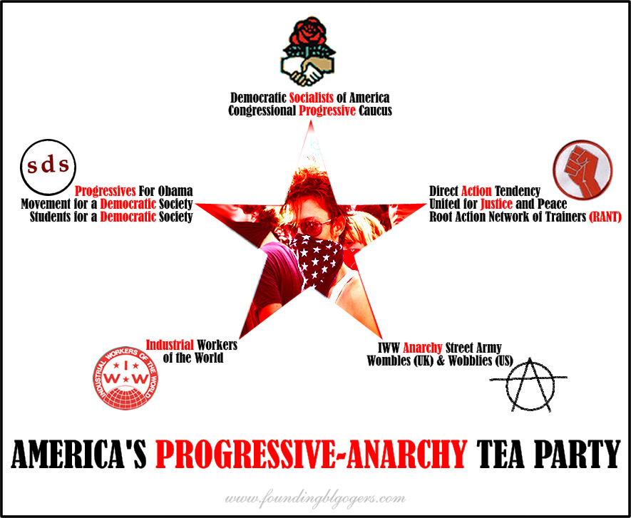 Is Bill Clinton Aware Of America's Progressive-Anarchy Tea Party?