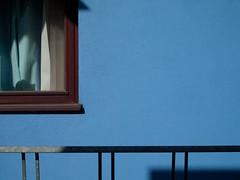 201105310458 (casually, krystina) Tags: blue window metal wall abstraction haphazartblue