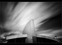 Independence day.....? Explored - highest 46,thanks (Chrisconphoto) Tags: longexposure blackandwhite bw contrast manchester mood lol salfordquays independenceday drama cba willsmith imperialwarmuseum weldingglass contactswhatarethey