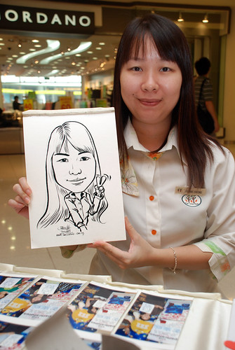 Caricature live sketching for The Cocoa Trees - Part 2 - 2