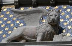 San Marco's Lion Cropped (revger) Tags: venice venezia sanmarco stmark wingedlion