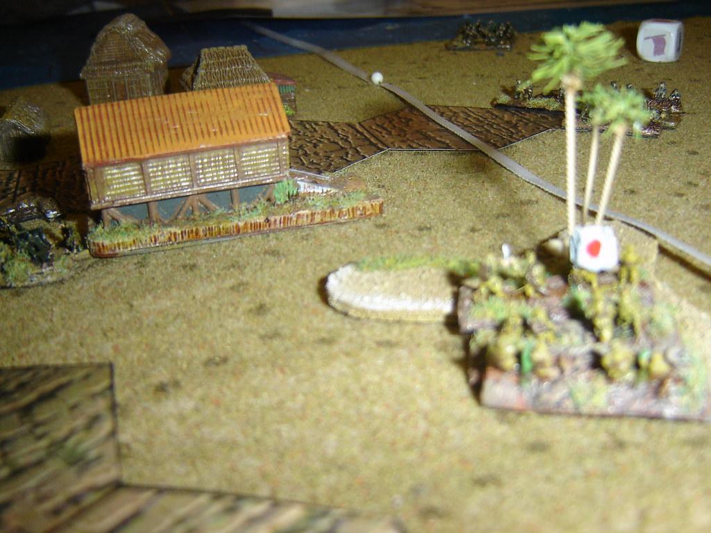 Japanese lurk in jungle to threaten Marine advance