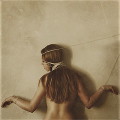in structure (brookeshaden) Tags: texture break sister bare rope structure string hang choke suffocate limp welldone123