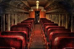 Tickets please (Sunset Sailor) Tags: railroad car train coach explore passenger hdr photomatix abigfave bratanesque betterthangood texturebyplayingwithbrushes artistictreasurechest