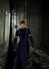Hawkeye Design 1 (mbtucker76) Tags: james barton shawn hawkeye clint spencer avengers psych ronin roday