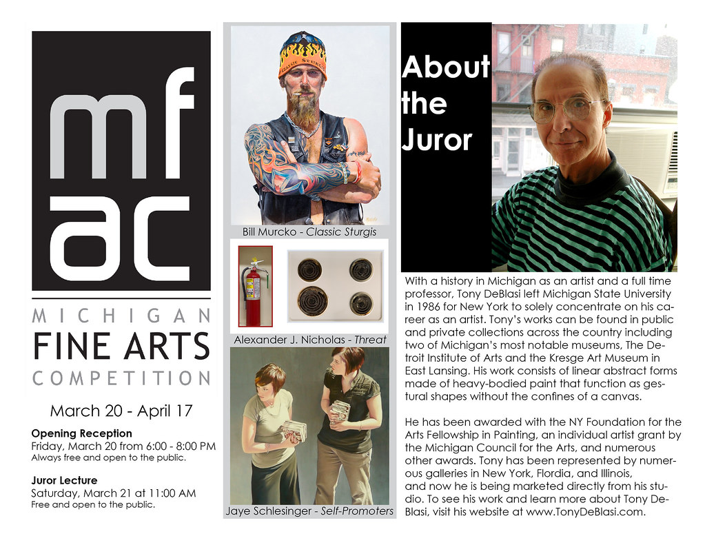 Stuff to Do:  Michigan Fine Arts Competition @ BBAC