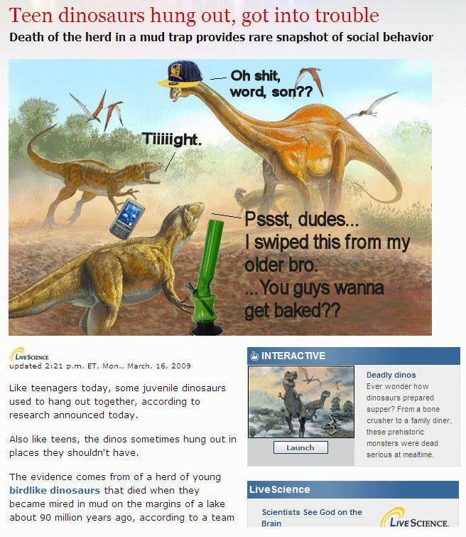 dinosaur teens