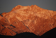 First Light on the Sierra Mtns (Thank You 7.5 Million Visitors!) Tags: sunrise lonepine 395 sierranevadamountains