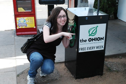 ME AND THE ONION!  :D