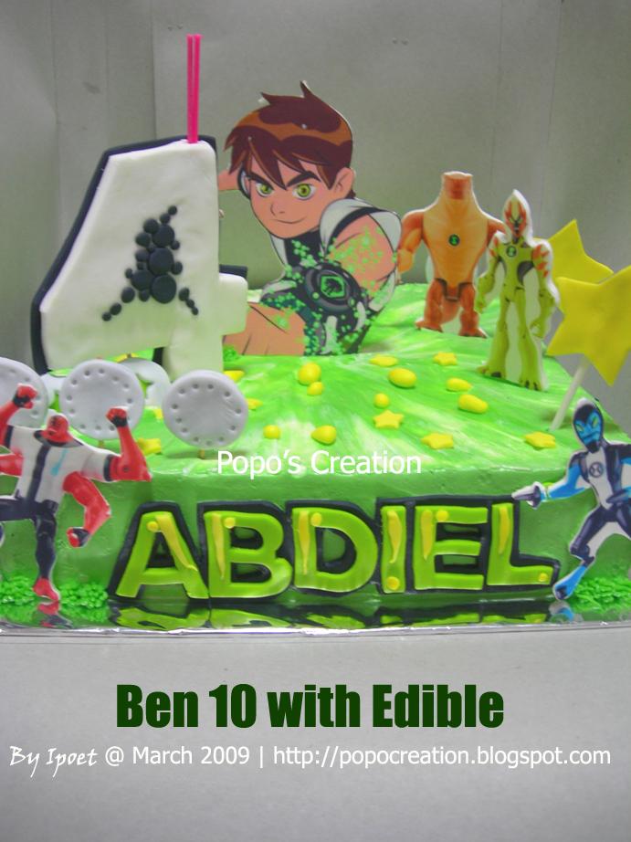 ben 10 with Edible